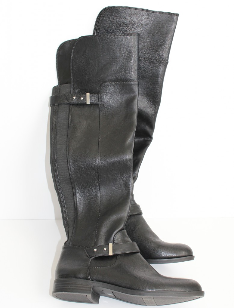 macys, black riding boots, black flat boots, black over the knee boots, over the knee boots, bar III