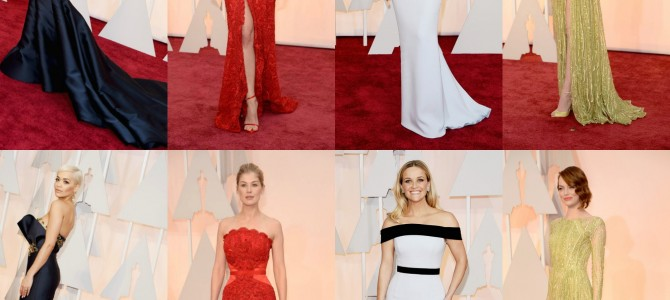 Fashion Replay at the 2015 Academy Awards: The Good, The Bad, and The Basic
