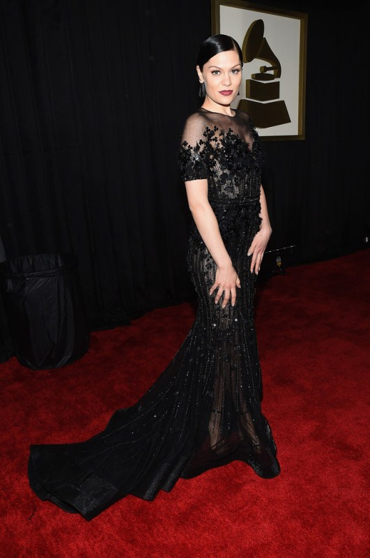 http://fashionbombdaily.com/2015/02/08/scene-57th-annual-grammy-awards/