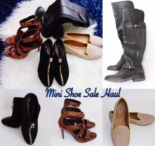 Mini Shoe Haul: Winter and Spring Shoe Deals