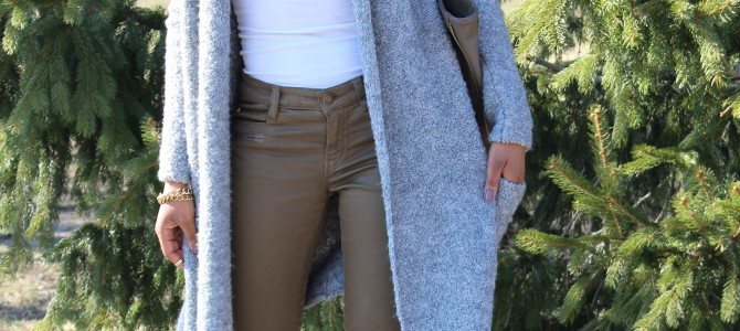 Long Line Cardigan + Neutrals