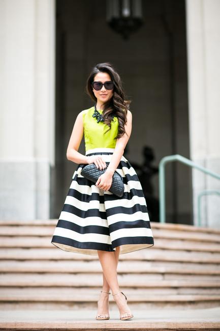 http://www.wendyslookbook.com/2015/01/neon-winter-striped-midi-skirt-chartreuse-top/