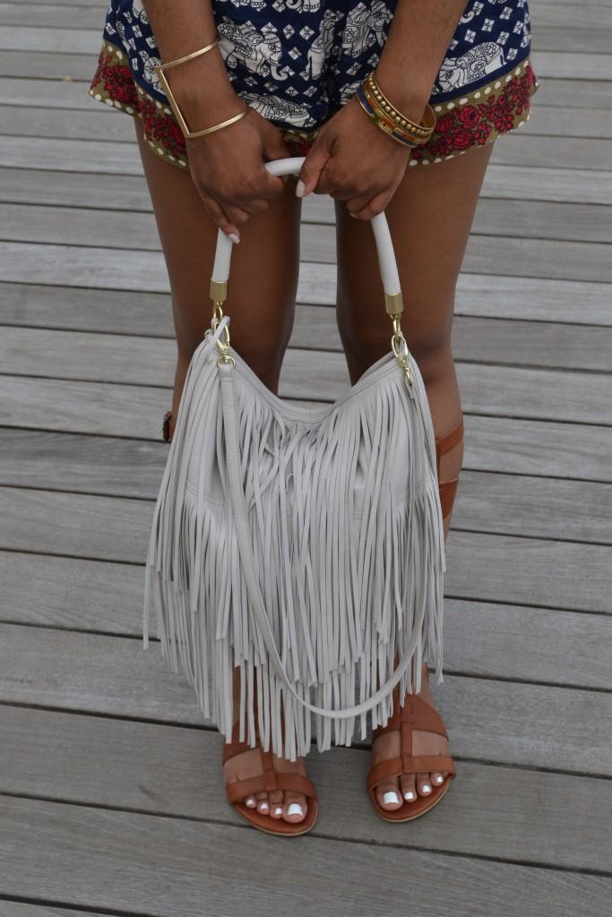 natural hair, black natural hair, forever21, romper, dc, dcblogger, sephora, h&m, stella and dot, fringe purse, fringe necklace, gladiator sandals