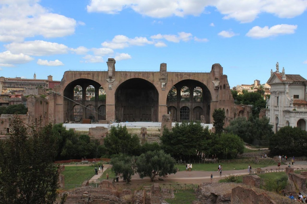 Palatine, Palatine Hill, Ruins, Rome, Italy, Beautiful, Blogger, Black Blogger, DC Blogger, The Style Perk, Kasi Perkins, Natural Hair, Travel, Travel Blogger