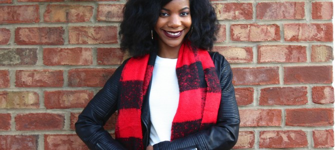 Fall/Winter Style: Black, White, and Red