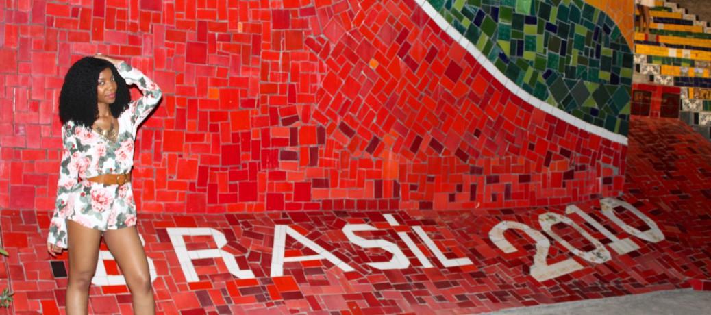 Brazil Travel Style: Floral Print Romper