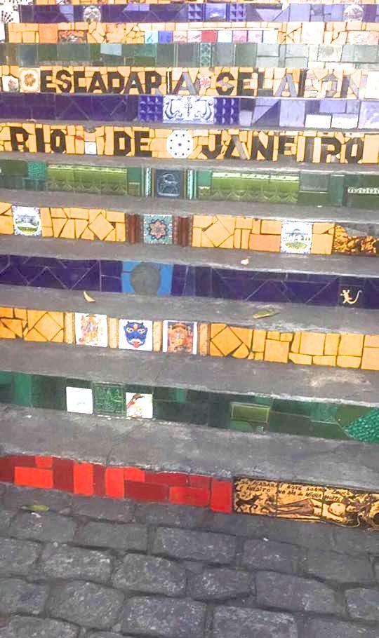 Escadaria Selaron, Lapa, Rio de Janeiro, travel, travel group, things to do in Rio de Janeiro, Brazil