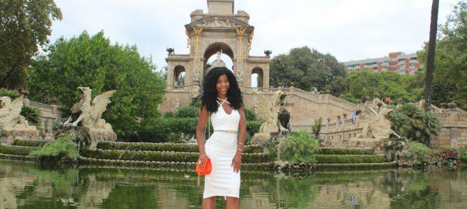 Barcelona Travel Style: White Midi Dress