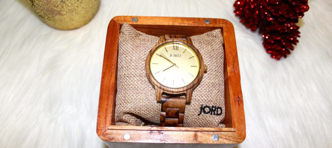 Holiday Product Spotlight with JORD Wood Watches + GIVEAWAY