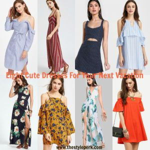 Eight Cute Dresses For Your Next Vacation, affordable summer dress, vacation dress, summer dress, cute summer dress, maxi dress, cut out dress