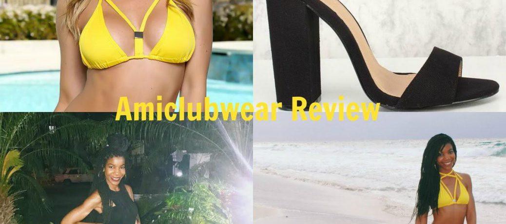 Cuba Travel Style: Amiclubwear Yellow Swimsuit + Amiclubwear Black Chunky Heels