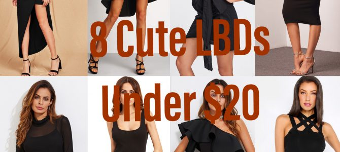 Eight Cute LBDs Under $20