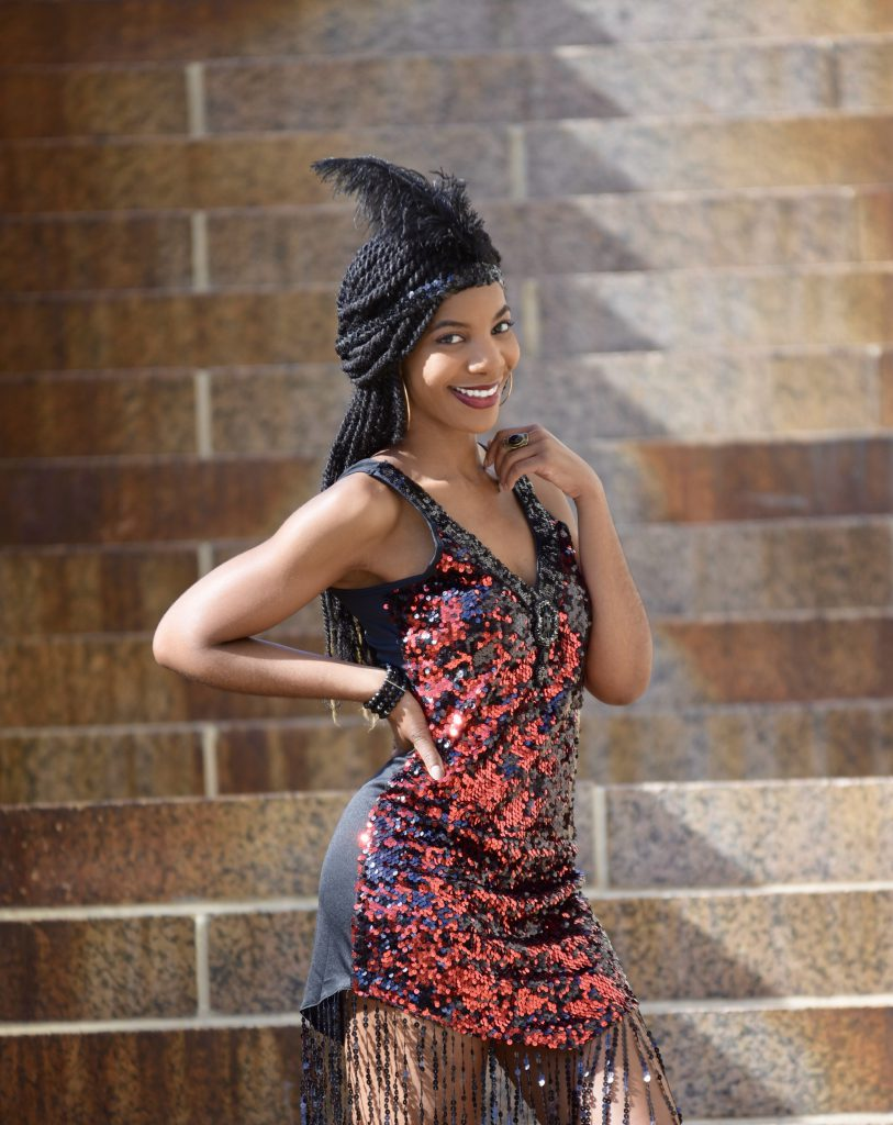 Amiclubwear Dreamgirl 2 PC Dames Like Us Costume, Flapper Girl Costumer, 1920s Costume, Roaring 20's Costume