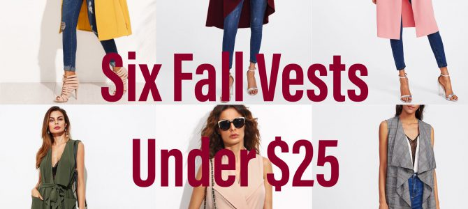 Six Fall Vests Under $25