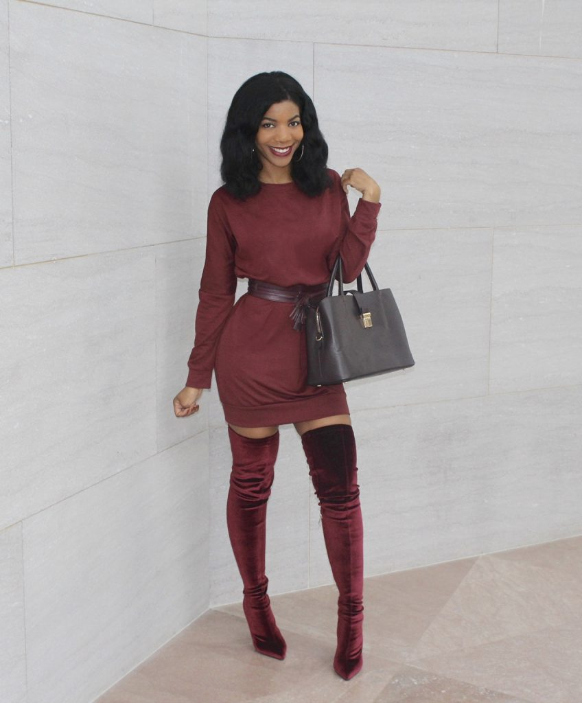 Maroon Dress Shoes