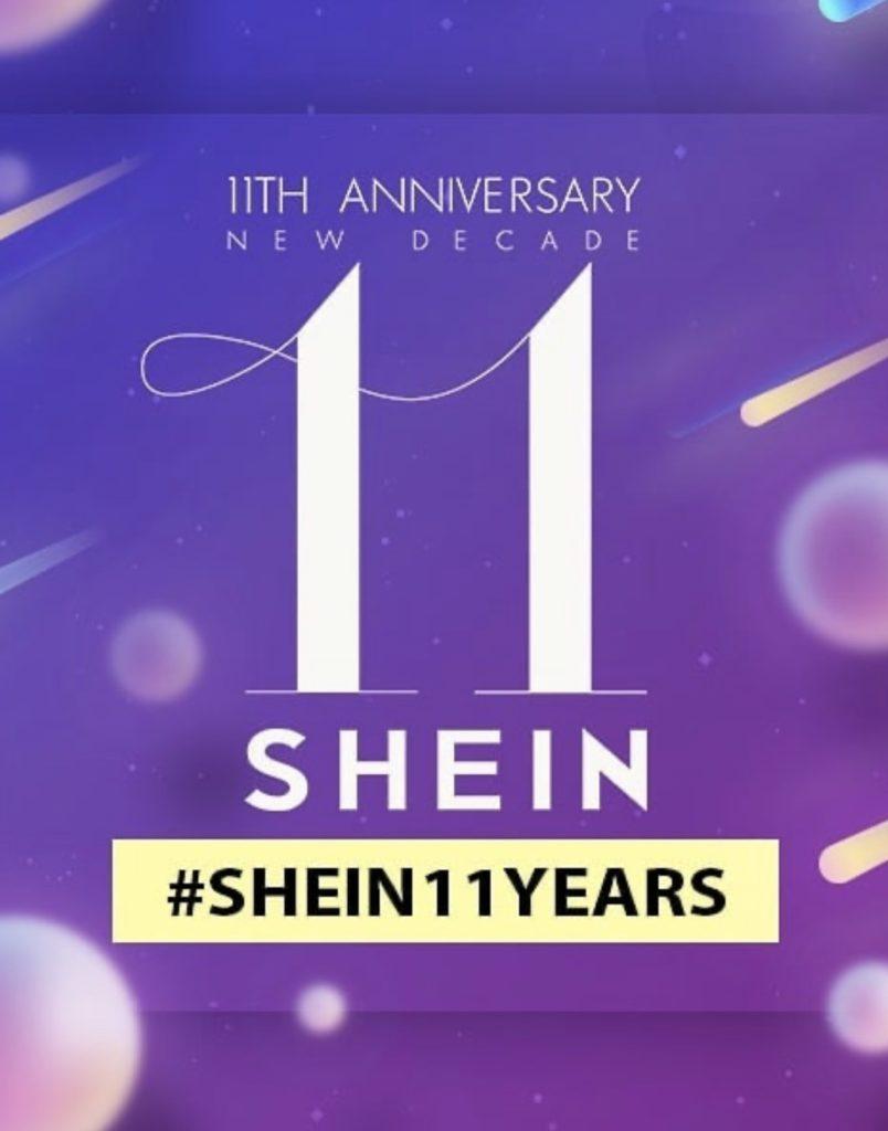 SHEIN 11th Anniversary, SHEIN11YEARS