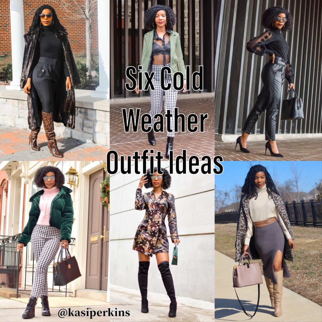 Six Cold Weather Outfit Ideas